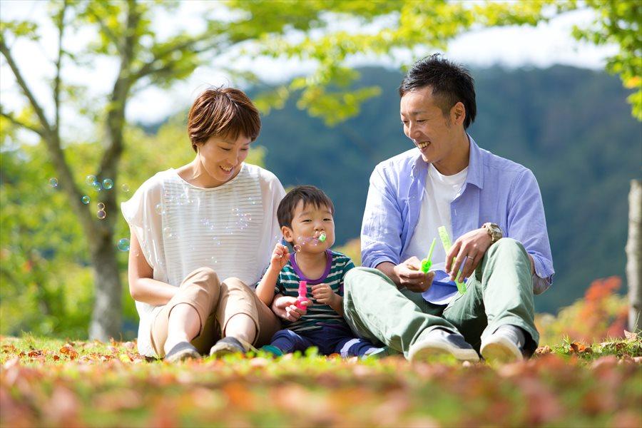 青森県黒石市虹の湖公園ロケーションフォト
